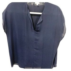 Vince navy blouse - great condition!